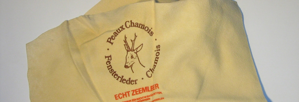 Caring for your Chamois Leather