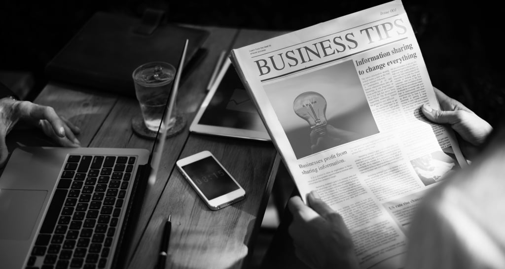 Be the First With Business Tips…