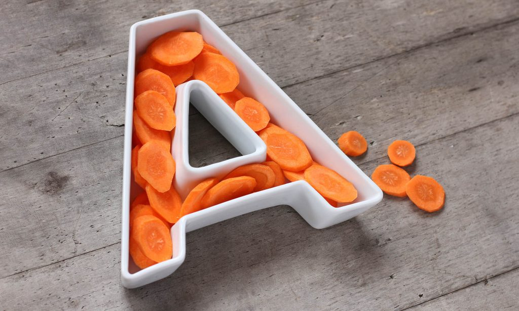 Vitamin A with tips