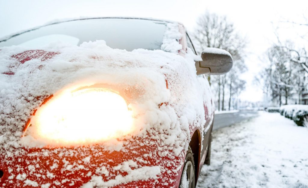 Fastest way to melt ice on your windscreen