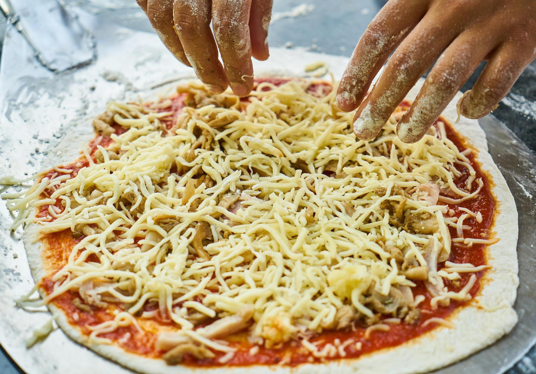 pizza-dough DIY
