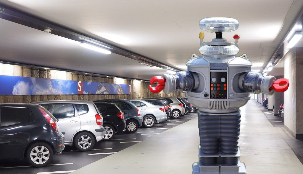 Airports to solve parking issues – with robots